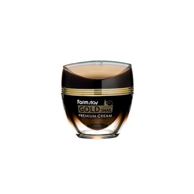 Farm Stay Gold Snail Premium Cream krem do twarzy Złoto & Śluz Ślimaka 50 ml