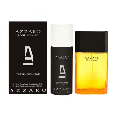 Azzaro Pour Homme Woda toaletowa spray 100ml +  Dezodorant w sprayu 150ml