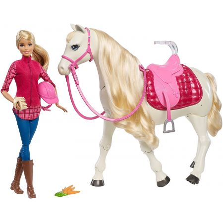 Barbie. Interaktywny koń Mattel
