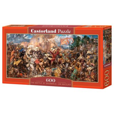 Puzzle 600 The Battle of Grunwald Jan Matejko - Castorland