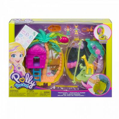 Polly Pocket. Kompaktowa torebka GKJ64 Fisher Price