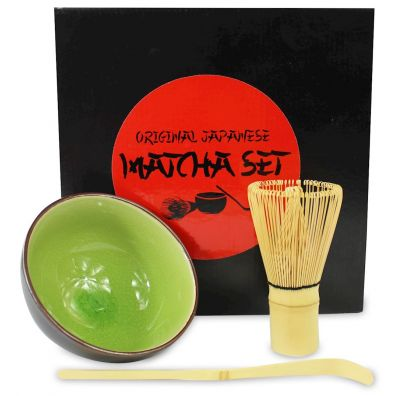 Matcha Magic Zestaw do parzenia herbaty matcha Bio