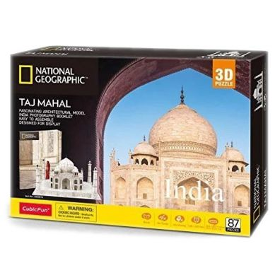 Puzzle 3D. National Geographic. Taj Mahal