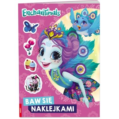 Enchantimals. Baw się naklejkami