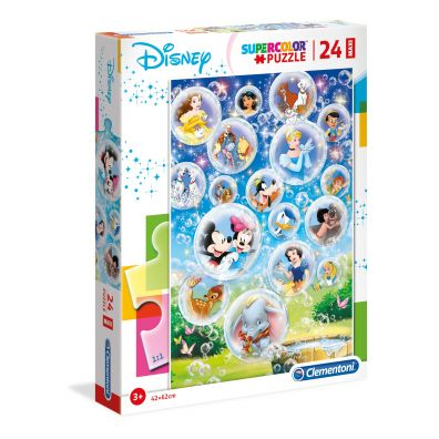 Puzzle 24 Maxi Disney Characters Clementoni