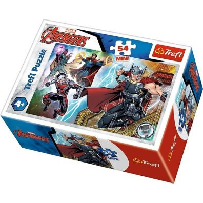 Puzzle 54 mini Bohaterowie The Avengers 4 TREFL