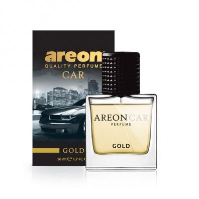 Areon Car Perfume Glass perfumy do auta Gold spray 50 ml