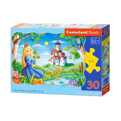 Puzzle 30 The Princess AND the Frog - Castorland