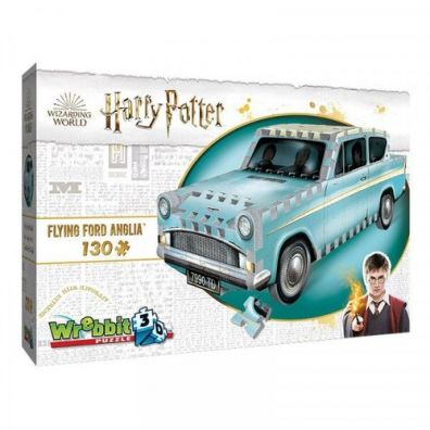 Wrebbit Puzzle 3D 130 el Flying Ford Anglia Tactic