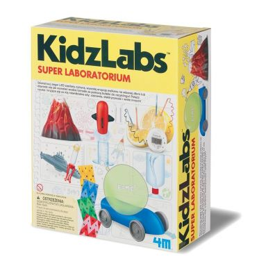 Super laboratorium KidzLabs 5529 RUSSEL 4M