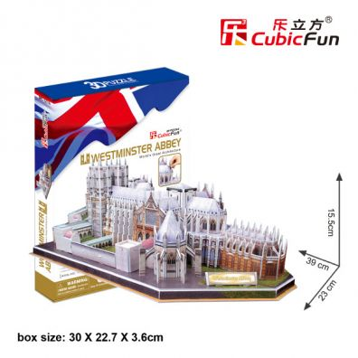 Puzzle 3D Westminster Abbey 145