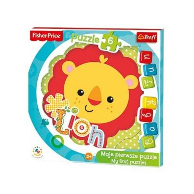 Puzzle Baby Fun - Lwiątko Fisher-Price TREFL