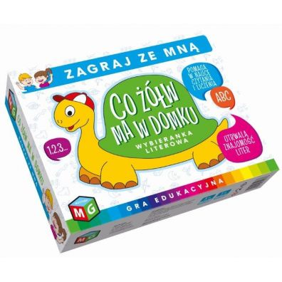 Co żółw ma w domku Multigra