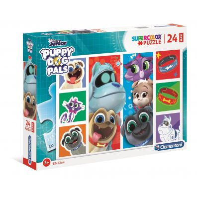 Puzzle 24 Super Kolor Puppy Dog Pals maxi Clementoni