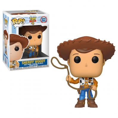 Figurka Funko Pop Movies: Toy Story 4 - Woody 522