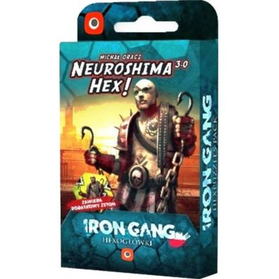Neuroshima HEX 3.0: Iron Gang Hexogłówki Portal Games