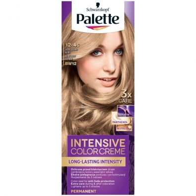 Intensive Color Creme Hair Colorant farba do włosów w kremie BW12 Nude Light Blonde