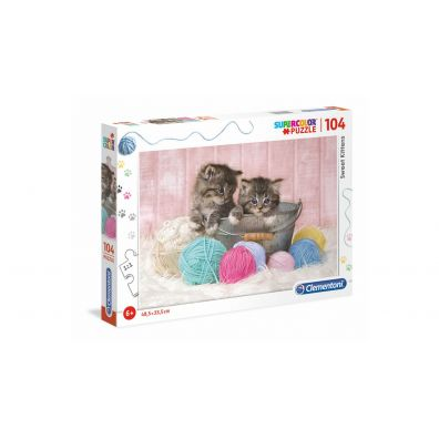 Puzzle Supercolor 104 Sweet Kittens
