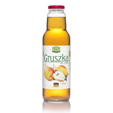 Look Food Sok 100% z gruszki 750 ml