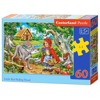 Puzzle 60 Little Red Riding Hood