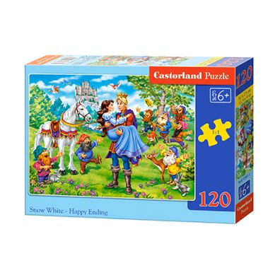 Puzzle 120 Snow White - Happy Ending
