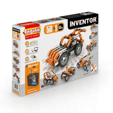 Inventor 50 in 1 models motorized