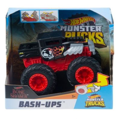 Hot Wheels. Monster Trucks Pojazd z kraksą Mattel