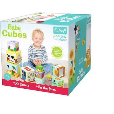 Little Planet - Baby Cubes  Na wsi TREFL
