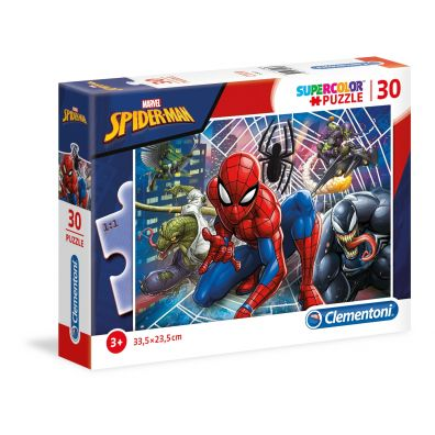 Puzzle 30 Super kolor Spiderman