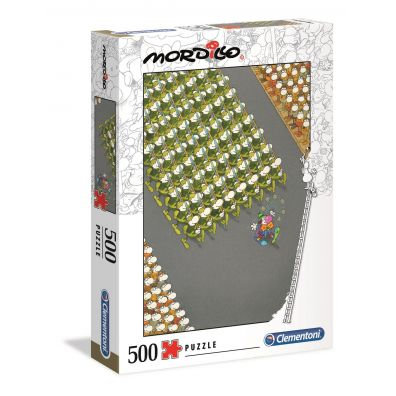 Puzzle 500 Mordillo The March Clementoni
