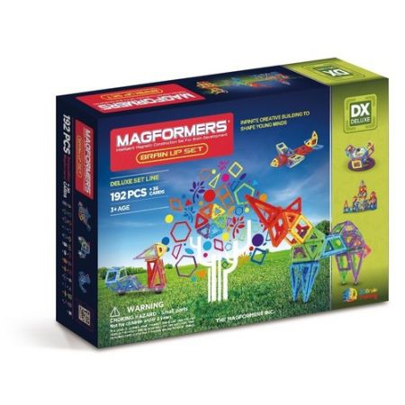 Magformers Brain Up 192 elementy
