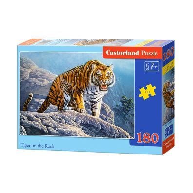 Puzzle 180 Tiger on the rock CASTOR