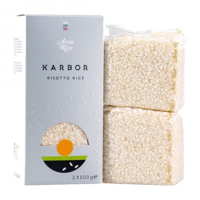 Aron Rice Ryż do risotto Karbor 2 x 500g