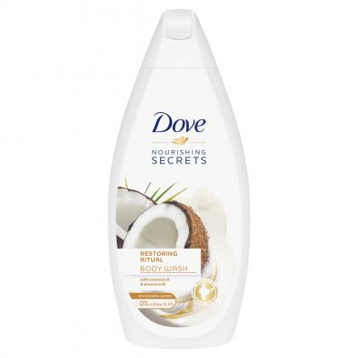 Dove Nourishing Secrets Body Wash żel pod prysznic Coconut Oil & Almond Milk 500 ml