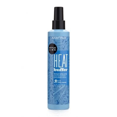 Matrix Style Link Heat Buffer Thermal Styling Spray termoochronny spray do włosów Hold 2 250 ml
