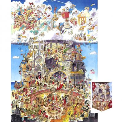 Puzzle 1500 EL. Heaven and Hell, Pradest