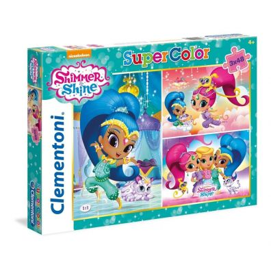 Puzzle 3x48 Superkolor Shimmer and shine