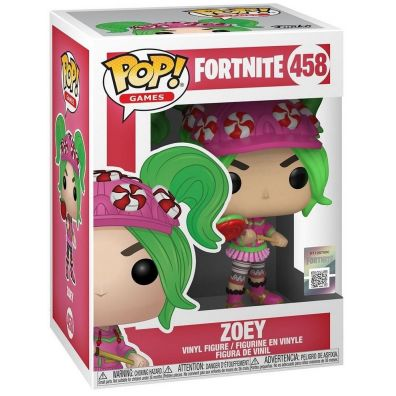 Figurka Funko Pop Vinyl: Fortnite S2 - Zoey 458