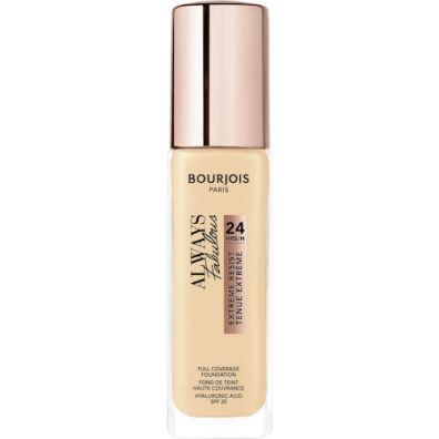 Bourjois Always Fabulous Extreme Resist SPF20 kryjący podkład do twarzy 120 Light Ivory 30 ml