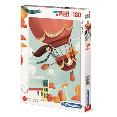 Clementoni Puzzle 180el Fly with me 29770