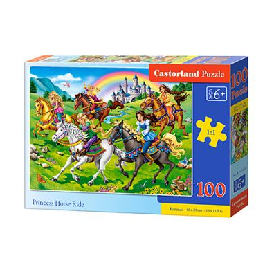 Puzzle 100 Princess Horse Ride