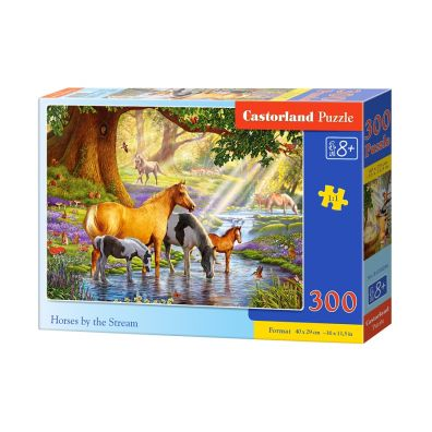 Puzzle 300 Horses by the Stream - Castorland