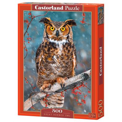 Puzzle 500 Great Horned Owl CASTOR