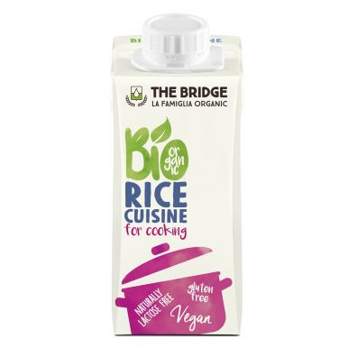 The Bridge Krem ryżowy do gotowania bez glutenu 200 ml EKO 200 ml Bio