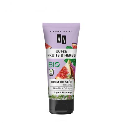 Aa Super Fruits & Herbs krem do stóp Rozmaryn i Figa 75 ml