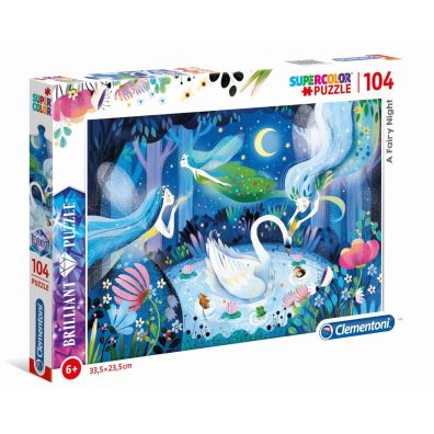 Puzzle 104 Brilliant A Fairy Night