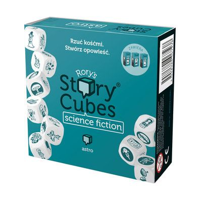 Story Cubes: Science Fiction Rebel