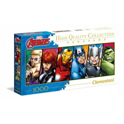 Puzzle. Panorama Collection. Avengers 1000