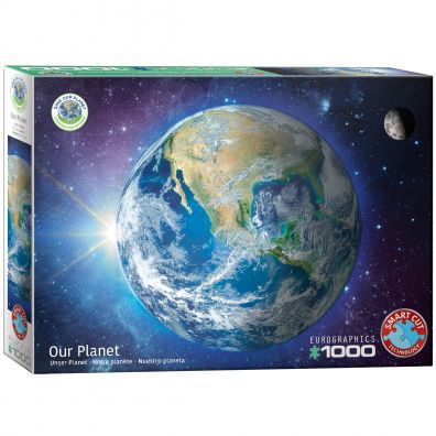 Puzzle 1000 Save our planet, Ziemia Eurographics