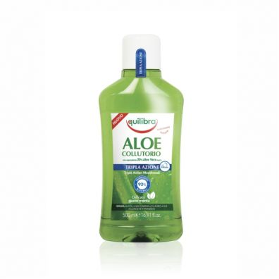 Equilibra Aloe Collutorio Triple Action Mouthwash płyn do płukania jamy ustnej 500 ml